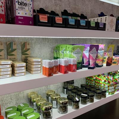 product shelf
